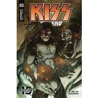 KISS END #3 CVR A SAYGER