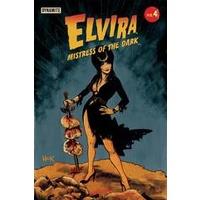 ELVIRA MISTRESS OF DARK # 4 CVR C HACK