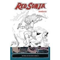 RED SONJA  # 1 20 COPY CONNER B&W INCV