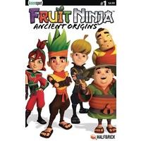 FRUIT NINJA ANCIENT ORIGINS #1 CVR B TEAM PHOTO HALFBRICK ST