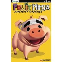 FRUIT NINJA ANCIENT ORIGINS #1 CVR C TRUFFLES THE PIG HALFBR