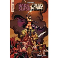 HACK SLASH VS CHAOS # 4 CVR A SEELEY