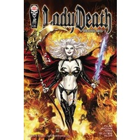 LADY DEATH APOCALYPTIC ABYSS # 2 STANDARD COVER