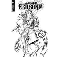 LEGENDERRY RED SONJA #4 (OF 5) CVR A BENITEZ