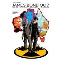 JAMES BOND 007  # 3 CVR A JOHNSON