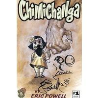 CHIMICHANGA #1 (OF 3) SGN & RESKETCHED ED