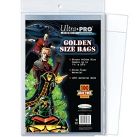 COMIC BAGS - GOLD SIZE